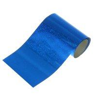 Фольга для декора ногтей, синяя