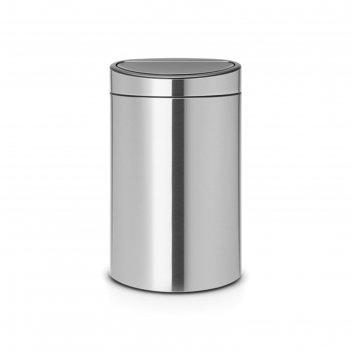 Мусорный бак touch bin new, двухсекционный, 10 л, 23 л