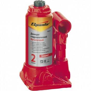 Домкрат гидравлический бутылочный 16 т, h подъема 205-400 мм sparta compac