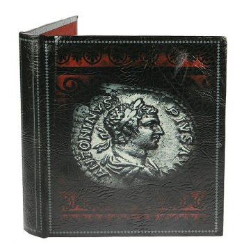 Альбом для монет античность 24*26*4см 10 лист. на 480 монет