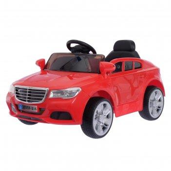 Электромобиль «престиж», 2 мотора, активная подвеска, цвет красный