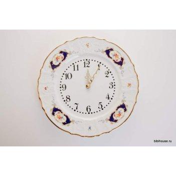 Часы настенные 27 см. синий глаз 36612