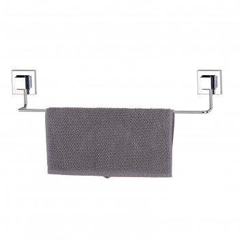 Держатель для полотенца 53 см, самоклеящийся, цвет хром, ef260