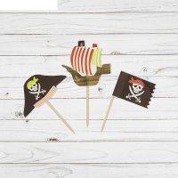 Шпажки для канапе пират (набор 12 шт)
