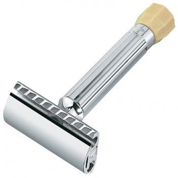 Станок т- образный для бритья merkur хромированный, с регулировкой угла на