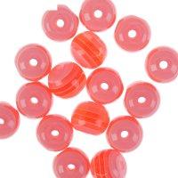 Бусины zlatka акрил str-12 12мм  набор 50±2шт (08 бл.розово-красный)