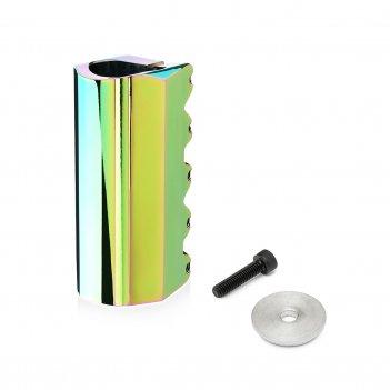 Хомут fox  vc01 scs 31.8mm, 5 bolts rainbow