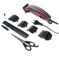 Машинка для стрижки волос zimber zm-10036, 4 насадки