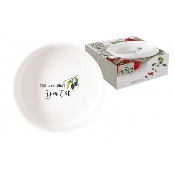 Чаша-салатник kitchen elements в подарочной упаковке