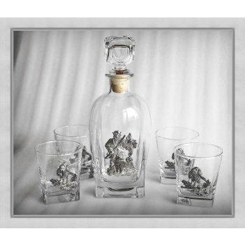 Набор для виски 307 удачная охота. арт. ншт307уох24