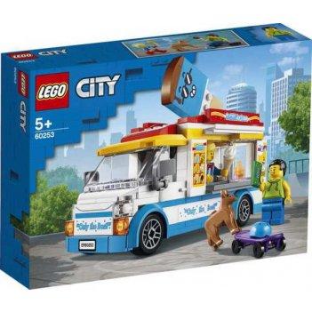 Конструктор lego city great vehicles грузовик мороженщика