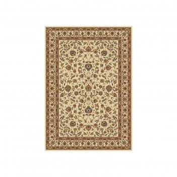 Прямоугольный ковёр buhara 5471, 200 х 400 см, цвет cream