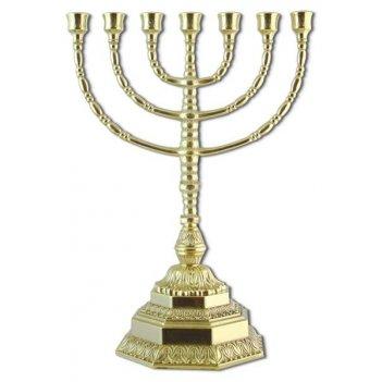 al-82-305 подсвечник (канделябр) на семь свечей минора из бронзы