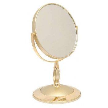 Зеркало b6 806 g5/g gold настольное 2-стор. 5-кр.ув.15 см.