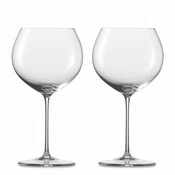 Набор бокалов для красного вина burgundy, ручная работа, объем 750 мл, 2 ш