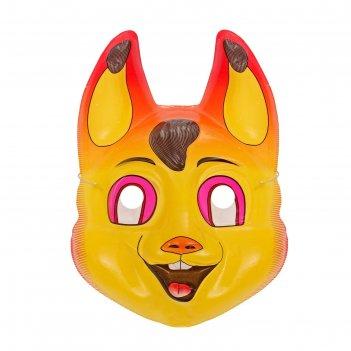 Карнавальная маска белочка на резинке
