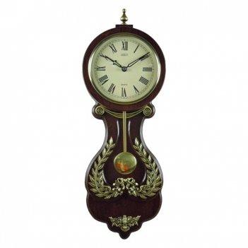 Часы настенные механические деревянные