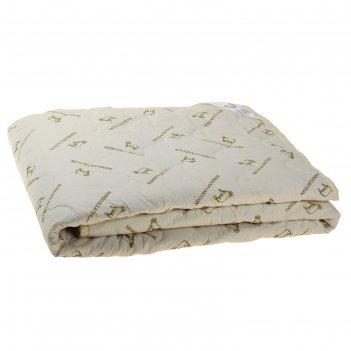 Одеяло этель овечья шерсть 140*205 см, тик, 300 гр/м2