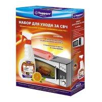 Набор тopperr для ухода за свч: чистящее средство для свч, 500 мл + салфет