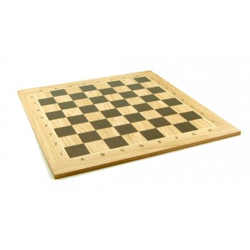 Доска шахматная турнирная 50мм, береза