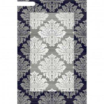 Прямоугольный ковёр silver d213, 300 х 400 см, цвет gray