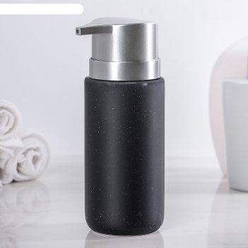 Дозатор для жидкого мыла тринити, цвет чёрный