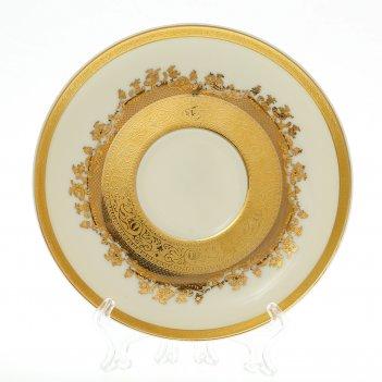 Набор блюдец falkenporzellan cream gold 14,5см(6 шт)