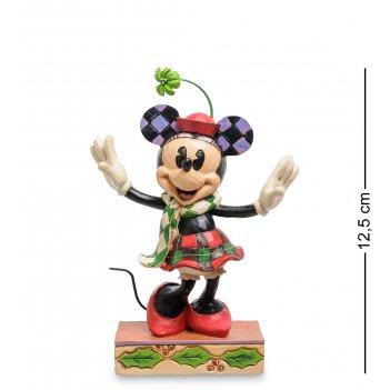 Disney-4051967 фигурка веселая минни маус (с рождеством!)