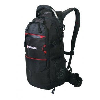 13022215 рюкзак wenger «narrow hiking pack» цв  чёрный, поли