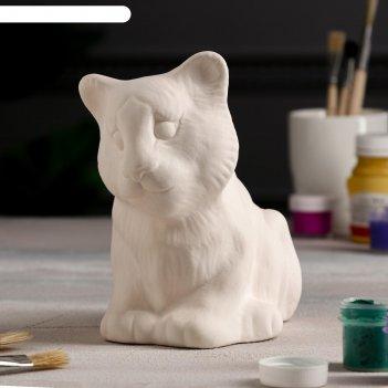 Копилка-раскраска тигр, 17 см