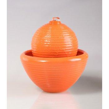 Настольный фонтан «времена года» оранжевый