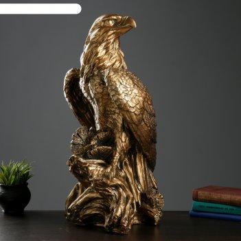 Копилка орел большой бронза
