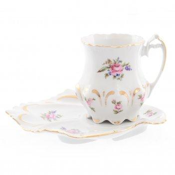 Чайная пара queens crown корона полевой цветок