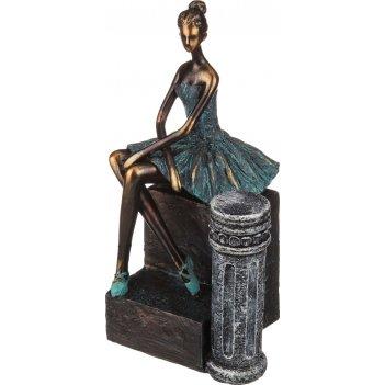 Статуэтка балерина 14.*13*25 см.коллекция ар-нуво (кор=6шт.)