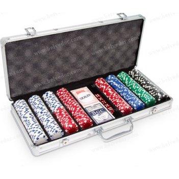 Покерный набор dice premium на 400 шт.