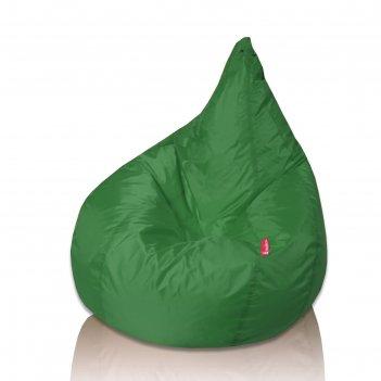 Кресло-мешок груша, диаметр 90, высота 140, цвет зелёный oxford