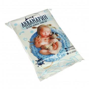 Влажные салфетки «аквамарин», детские, без запаха, 50 шт