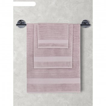 Махровое полотенце karna flow, размер 40х60 см, цвет светло-лавандовый