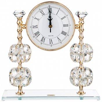 Часы настольные magic crystal циферблат=14.5 см 30*12*31 см