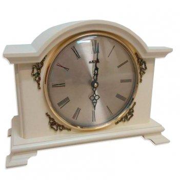 Настольные кварцевые часы sars 0217-15 white