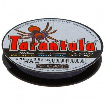 Леска tarantula 0.16 30м