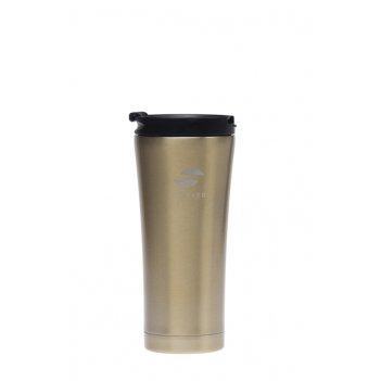 Термокружка stinger, 0,45 л, сталь/пластик, коричневый глянцевый, 6,6х20 с