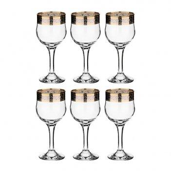 Набор рюмок для кр.вина  тулип кант из 6 шт. 240...