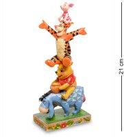 Disney-4055413 фигурка ушастик, винни-пух, тигра и пятачок (с друзьями все