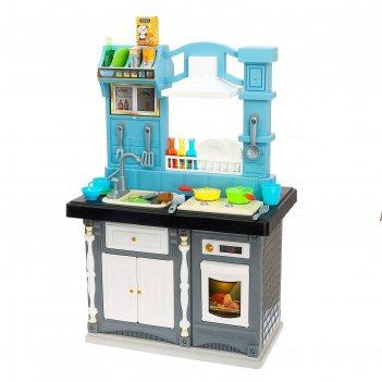 Игровой модуль кухня классик с аксессуарами, со световыми и звуковыми эффе