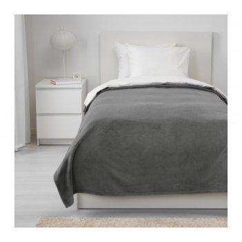 Покрывало траттвива, размер 150х250 см, цвет серый