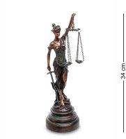 Ga-37 статуэтка фемида - богиня правосудия