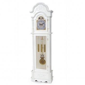 Кварцевые напольные часы columbus cl-9222 white quartz