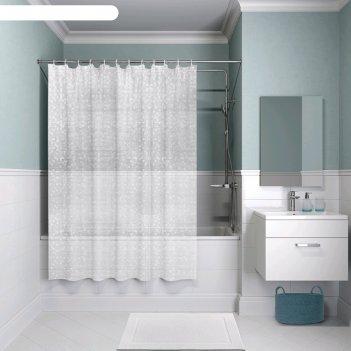 Штора для ванной комнаты iddis eva p13ev11i11, 180x180 см