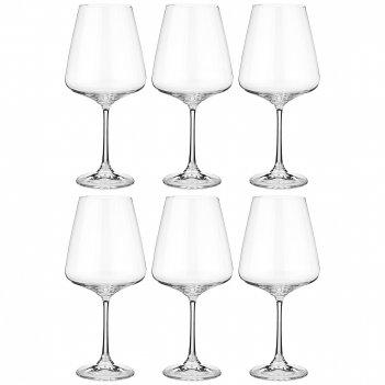 Набор бокалов для вина из 6 шт. naomi / corvus 570 мл.